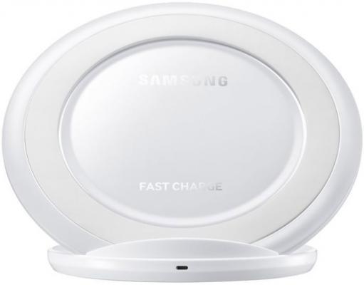 цена на Беспроводное зарядное устройство Samsung EP-NG930TWRGRU microUSB 2А белый