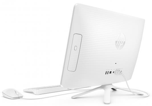 """Моноблок 21.5"""" HP 22-b345ur 1920 x 1080 Intel Core i3-7100U 4Gb 1Tb Intel HD Graphics 620 DOS белый 2BW19EA"""
