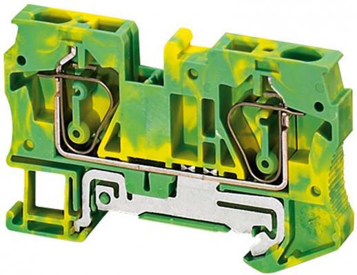 Клеммник Schneider Electric пружинный 6мм 2 точки подключения NSYTRR62PE