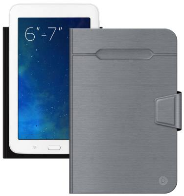 Чехол Deppa для планшетов 6''-7'' серый 87026 fl 039 cu helios