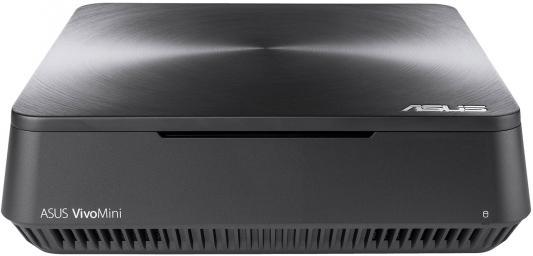 Неттоп ASUS VM45-G019Z Intel Celeron-3865U 2Gb 500Gb Intel HD Graphics 610 Windows 10 серый 90MS0131-M00190 ноутбук asus f553sa xx305t 15 6 1366x768 intel celeron n3050 500gb 2gb intel hd graphics черный windows 10 home 90nb0ac1 m06000