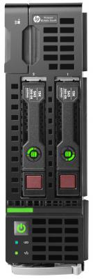 Сервер HP ProLiant BL460c 813193-B21 сервер hpe proliant dl360 gen10 1 up2 x 3106 xeon b [q9f01a]