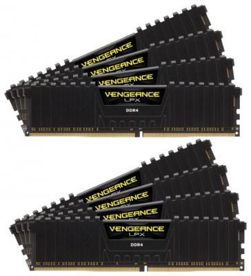 Оперативная память 64Gb (8x8Gb) PC4-19200 2400MHz DDR4 DIMM Corsair CMK64GX4M8A2400C14