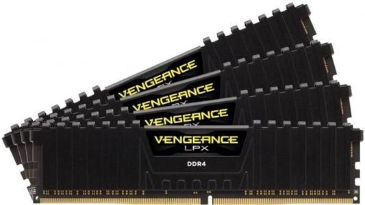 Оперативная память 64Gb (4x16Gb) PC4-28800 3600MHz DDR4 DIMM CL18 Corsair CMK64GX4M4B3600C18 оперативная память corsair vengeance lpx 2x8gb ddr4 dimm 3600мгц cl18 cmk16gx4m2b3600c18r