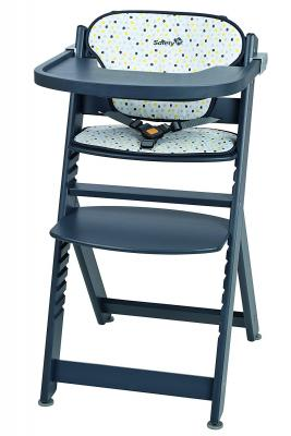 Стульчик для кормления Safety 1st Timba with Tray and Cushion (grey patches) maritime safety