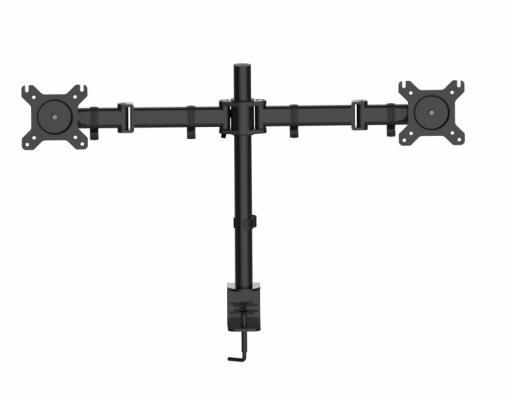 """Кронштейн для мониторов Cactus CS-VM-D29-BK черный 13"""",-27"""", настольный поворот и наклон до 10кг"""