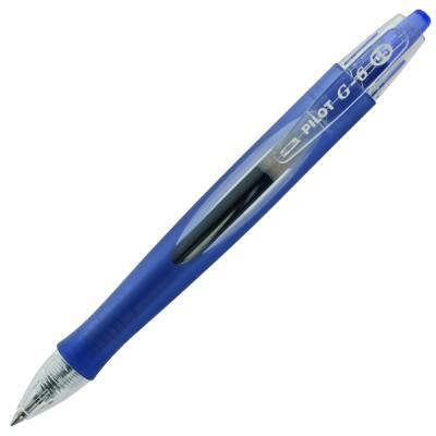 Гелевая ручка автоматическая Pilot G-6 синий 0.5 мм BL-G6-5-L 5 way pilot solenoid sy5120 3l c6