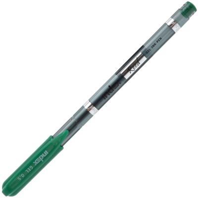 "Гелевая ручка Index ""Reed"" зеленый 0.5 мм IGP101/GN"