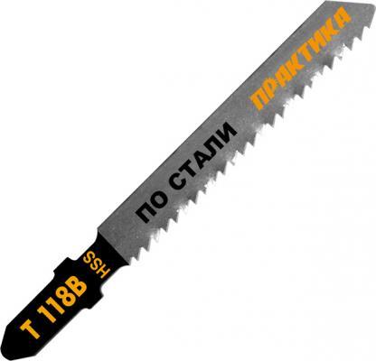 Лобзиковая пилка Практика T118B HSS 2шт 034-489 цена
