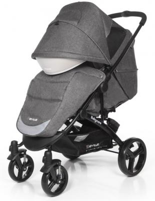 Прогулочная коляска Baby Care Seville (grey 17) прогулочная коляска baby care voyager grey 17