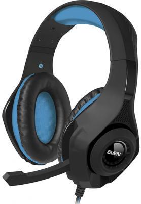Гарнитура Sven AP-G887MV черный синий