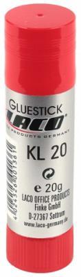 Клей-карандаш Laco KL 20 (2613030) 20 гр.