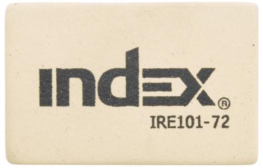 Ластик Index IRE101-72 1 шт прямоугольный