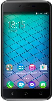 Смартфон BQ BQ-5059 Strike Power черный 5 8 Гб GPS 3G Wi-Fi смартфон bq bq 4072 strike mini черный 4 8 гб wi fi gps 3g bqs 4072 bkb