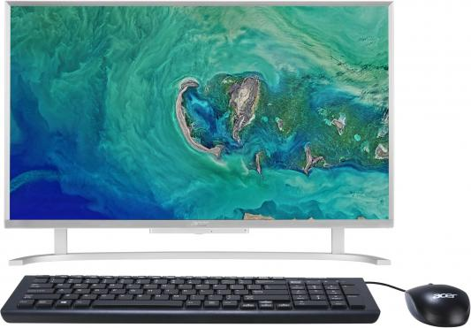 Моноблок 21.5 Acer Aspire C22-720 1920 x 1080 Intel Celeron-J3060 4Gb 1 Tb Intel HD Graphics 400 DOS серебристый DQ.B7AER.010 моноблок acer aspire c22 720 intel pentium j3710 4гб 1000гб intel hd graphics 405 free dos серебристый [dq b7cer 008]