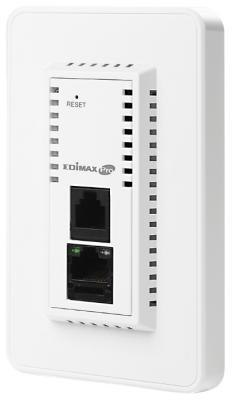 Точка доступа Edimax IAP1200 802.11aс 1167Mbps 5 ГГц 2.4 ГГц 2xLAN RJ-11 белый