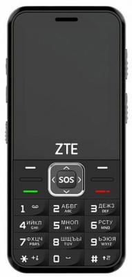 Мобильный телефон ZTE N1 черный 2.4 32 Мб мобильный телефон zte r341 черный