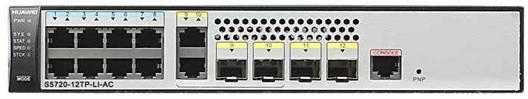 Коммутатор Huawei S5720S-12TP-LI-AC 8 портов 10/100/1000Mbps 98010568 huawei universal travel ac 100 240v power adapter black us plug