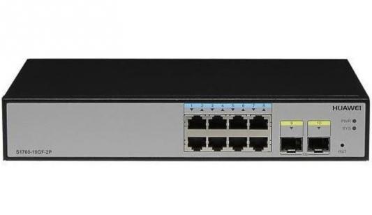 Коммутатор Huawei S1720-10GW-2P-E 8 портов 10/100/1000Mbps 98010753 спринклер cадовый 100 8 12 e ch 62965 06
