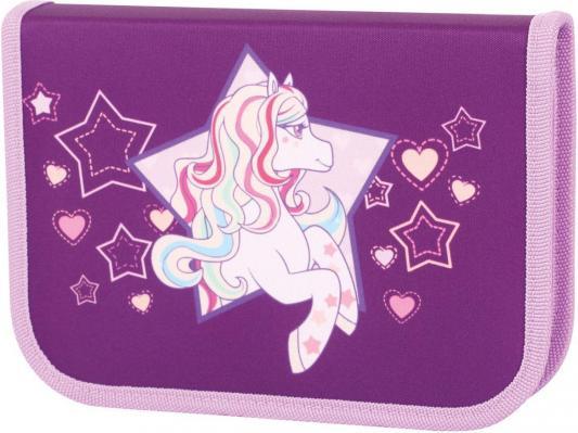 Пенал на одной молнии Tiger Enterprise Rainbow Pony пенал на одной молнии tiger enterprise rainbow pony с наполнением