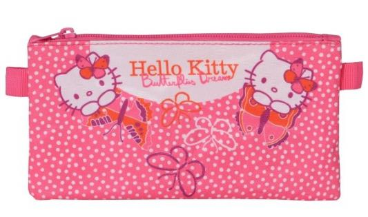 Пенал косметичка Action! HELLO KITTY пенал dakine lunch box 5 l augusta