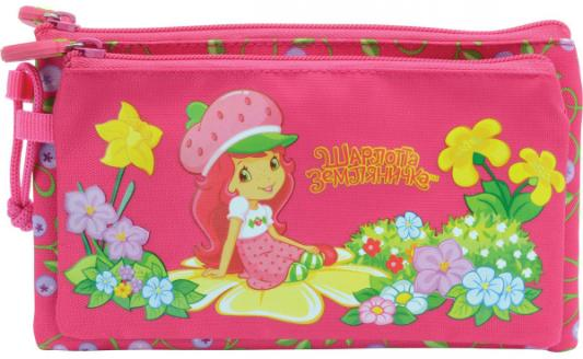 Пенал косметичка Action! STRAWBERRY SHORTCAKE strawberry print pencil case