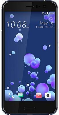 Смартфон HTC U11 серебристый 5.5 128 Гб NFC LTE Wi-Fi GPS 3G 99HAMB079-00 смартфон htc 10 lifestyle золотистый 5 2 32 гб nfc lte wi fi gps 3g 99hajn037 00