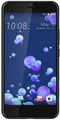 Смартфон HTC U11 черный 5.5 64 Гб NFC LTE Wi-Fi GPS 3G 99HAMB075-00 смартфон htc 10 lifestyle золотистый 5 2 32 гб nfc lte wi fi gps 3g 99hajn037 00