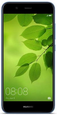 Смартфон Huawei Nova 2 синий 5 64 Гб LTE Wi-Fi GPS 3G 51091TNT смартфон elephone s7 черный 5 5 64 гб lte wi fi gps 3g s7 4gb 64gb black
