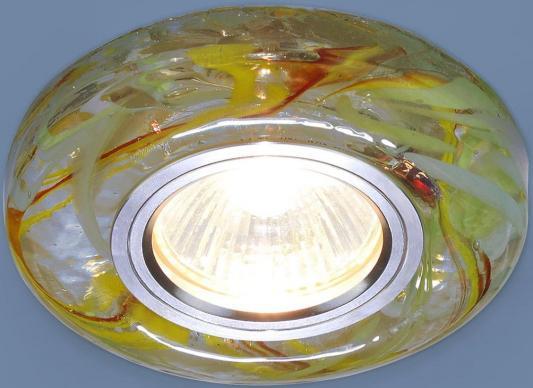 Встраиваемый светильник Elektrostandard 2191 MR16 CL/YL/GR прозрачный/желтый/зеленый 4690389096129 elektrostandard встраиваемый светильник со светодиодами elektrostandard 3020 желтая подсветка yl led 4690389030482
