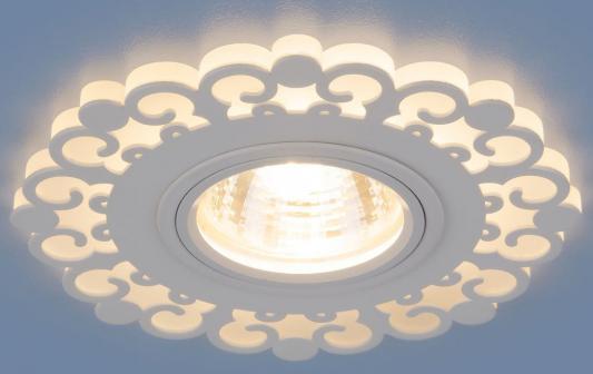 Фото - Встраиваемый светильник Elektrostandard 2196 MR16 WH белый 4690389101014 cветильник галогенный de fran встраиваемый 1х50вт mr16 ip20 зел античное золото