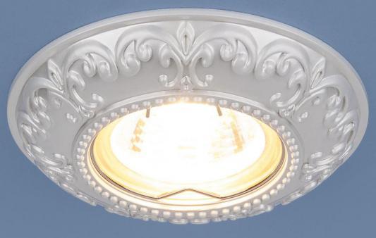 Встраиваемый светильник Elektrostandard 7009 MR16 WH белый 4690389098000 встраиваемый светильник elektrostandard 2008 mr16 wh белый 4690389066405