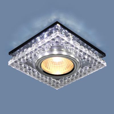 Встраиваемый светильник Elektrostandard 8391 MR16 CL/SВK прозрачный/дымчатый 4690389098383 ноутбук трансформер lenovo yoga book yb1 x91f