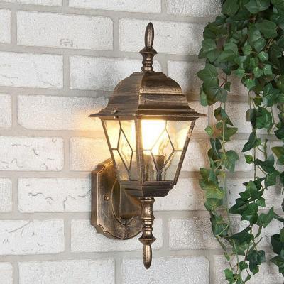 Уличный настенный светильник Elektrostandard Vega 4690389012303
