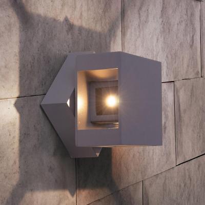Уличный настенный светодиодный светильник Elektrostandard 1606 Techno LED Tellus 4690389086052