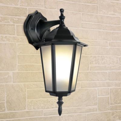 Уличный настеный светильник Elektrostandard 1004D черный 4690389085697