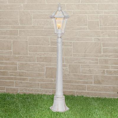 Уличный светильник Elektrostandard Capella F белое золото 4690389104305 elektrostandard светильник уличный elektrostandard capella белое золото