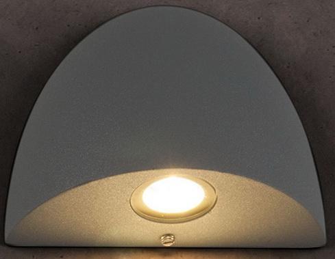 Уличный настенный светодиодный светильник Elektrostandard 1610 Techno LED Rongo серый 4690389086083