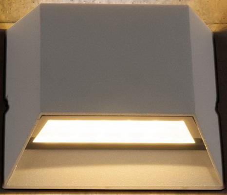 Уличный настенный светодиодный светильник Elektrostandard 1614 Techno LED Ofion Double 4690389086076 elektrostandard лампа светодиодная elektrostandard свеча на ветру сdw led d 6w 3300k e14 4690389085505