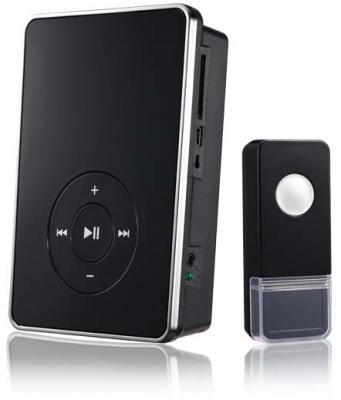 Звонок дверной беспроводной Elektrostandard черный звонок дверной luazon беспроводной 1010791