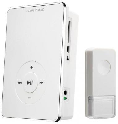 Звонок дверной беспроводной Elektrostandard DBQ10M WL белый 4690389037375 звонок дверной luazon беспроводной 1010791
