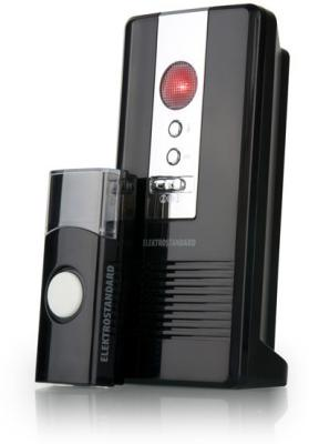 Звонок дверной беспроводной Elektrostandard DBQ06M WL 36M IP44 (4690389031236) черный звонок дверной luazon беспроводной 1010791