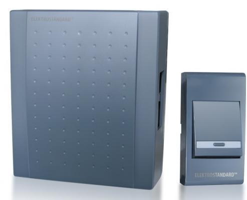 Звонок электромеханический Elektrostandard DBQ17 WM 1M IP44 серый 4690389062056