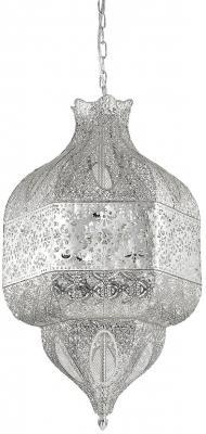 Подвесной светильник Ideal Lux Nawa-1 SP8 Argento подвесной светильник ideal lux missouri sb4 argento