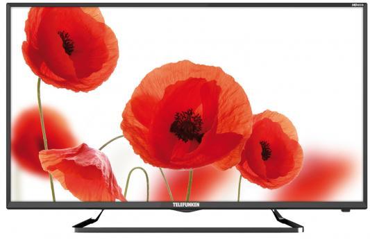 Телевизор Telefunken TF-LED39S52T2 черный цена и фото