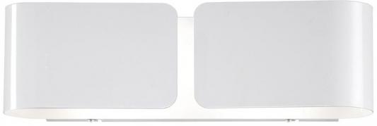 Настенный светильник Ideal Lux Clip AP2 Small Bianco ideal lux настенный светильник ideal lux clip ap2 mini bianco