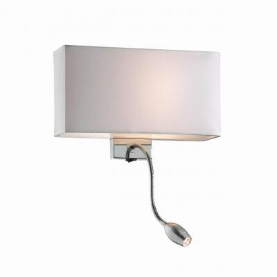 Настенный светильник Ideal Lux Hotel AP2 Bianco