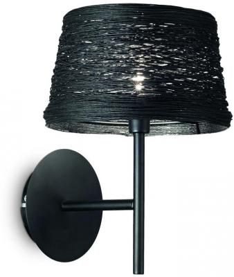 Бра Ideal Lux Basket AP1 Nero бра ideal lux gim ap1 nero