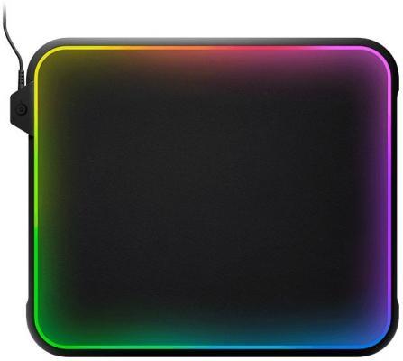 все цены на Коврик для  мыши Steelseries QcK Prism черный 63391 онлайн