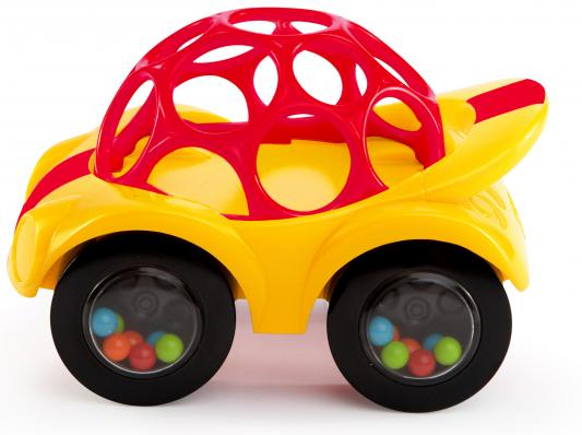 Развивающая игрушка Oball Машинка, желтая игрушки для ванной oball игрушка для ванны уточка желтая